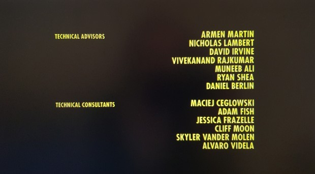 Silicon Valley Credits